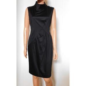 NEW Lafayette 148 New York Mock Neck Dress
